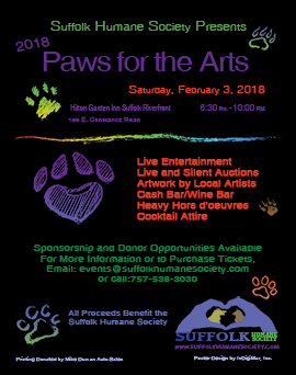 Paws for the Arts 2018